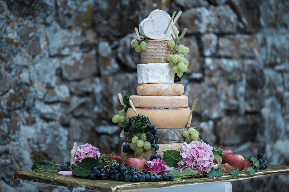 pour changer des wedding cake et pieces montées  traditionnelles